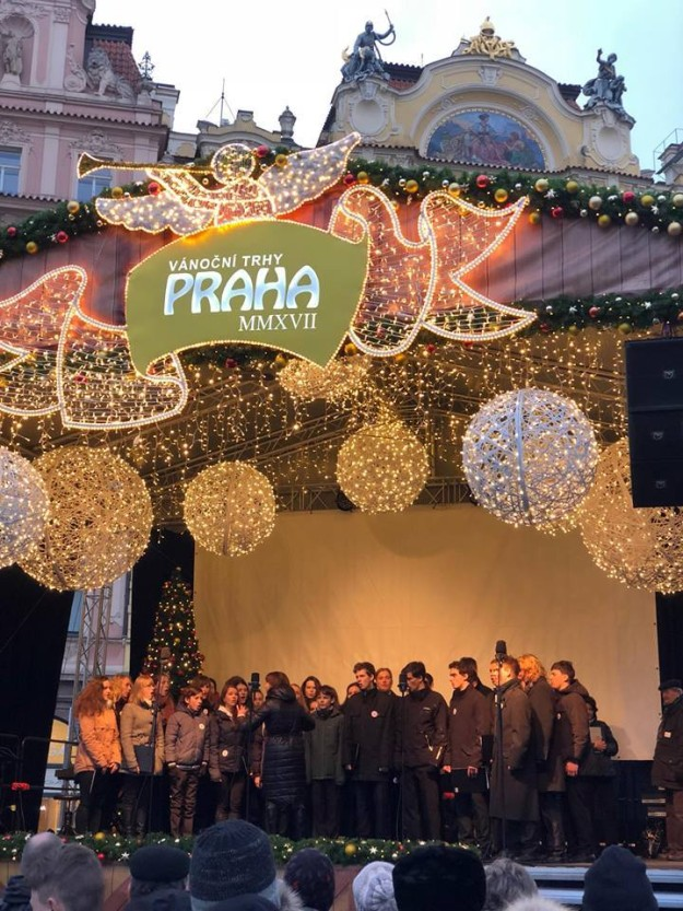 sbor v Praze